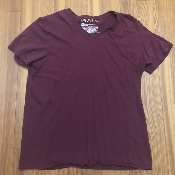 Other - THE RAIL MENS VNECK SHIRT MAROON XL